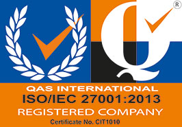 QAS International ISO/IEC 27001:2013 Registered Company