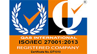 Certified Quality System - ISO/lEC 27001:2013